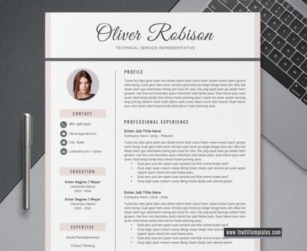 2020 Editable CV Template for Job Application, Resume Format, Modern and  Creative Resume, Professional Resume Layout, Word Resume, 3 Page Resume, ...
